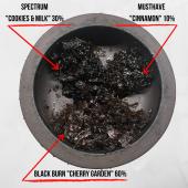 Миксы для кальяна - Вишневое печенье (Black Burn - Cherry Garden, Spectrum - Cookies & Milk, MustHave - Cinnamon)
