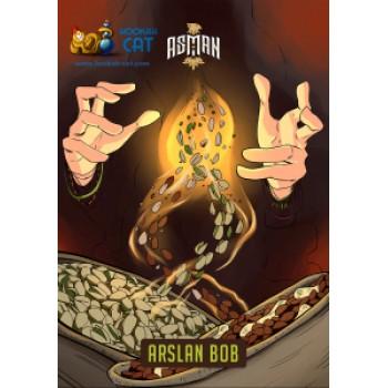 Табак для кальяна Asman Arslan Bob (Асман Ореховый Микс) 100г Акцизный