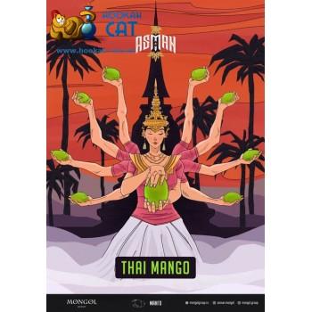 Табак для кальяна Asman Thai Mango (Асман Тайский Манго) 100г Акцизный