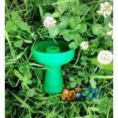 Чаша силиконовая фаннел Зеленая