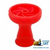 Чаша силиконовая секционная Красная