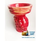 Чаша Vintage Mask Evil Glaze Predator Red (Винтаж Убивашка Хищник Красный)