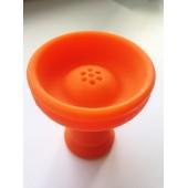 Чаша силиконовая (Оранжевая)
