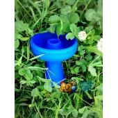 Чаша силиконовая (Синяя)
