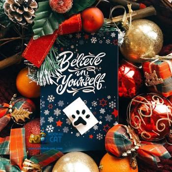 Подарочный сертификат на Новый Год в магазин Кальянный Кот на 1500 рублей - купить кальян в Москве