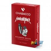 Смесь Chabacco Bourbon Rocks (Бурбон Рокс) Medium 50г Limited Edition