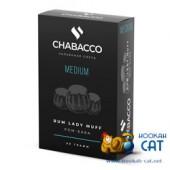 Смесь Chabacco Rum Lady Muff (Ром Баба) Medium 50г