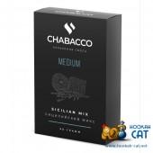 Смесь Chabacco Sicilian Mix (Сицилийский Микс) Medium 50г