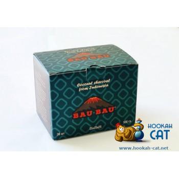 Натуральный кокосовый уголь для кальяна Bau Bau (Бау Бау) 36 шт. (25мм, 500г)
