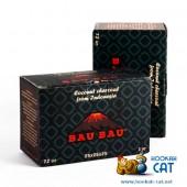 Уголь для кальяна Bau Bau (Бау Бау) 72 шт. (25мм, 1кг)