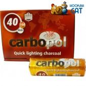 Саморазжигающийся уголь для кальяна Carbopol 10 шт. (40мм)