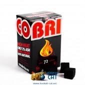 Уголь для кальяна Cocobrico (Кокобрико) 72 шт. (25 мм, 1кг)