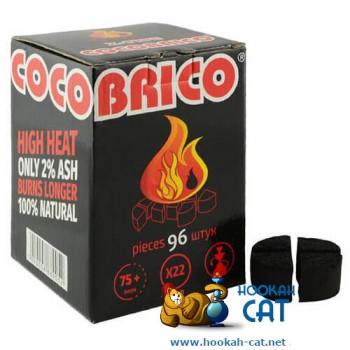 Уголь для кальяна Cocobrico Kaloud (Кокобрико Калауд) 96 шт. (1кг)