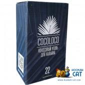 Уголь для кальяна Cocoloco (Коколоко) 96 шт. (22мм, 1 кг)