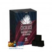 Уголь для кальяна Cocoloco 72 шт. (25мм, 1 КГ)