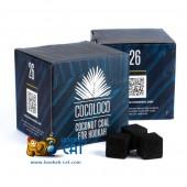 Уголь для кальяна Cocoloco (Коколоко) 64 шт. (26мм,1кг)