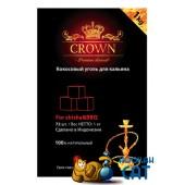 Уголь для кальяна Crown 72 шт. (1 КГ)