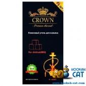 Уголь для кальяна Crown 96 шт. (1 КГ)