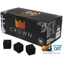 Уголь для кальяна Crown (Краун) 96 шт. (22мм, 1кг)