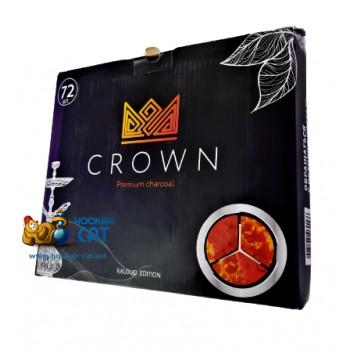 Уголь для кальяна Crown Kaloud Edition (Краун Калауд) 72 шт. (1кг)
