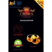 Уголь для кальяна Crown Kaloud Edition 112 шт. (1 КГ)