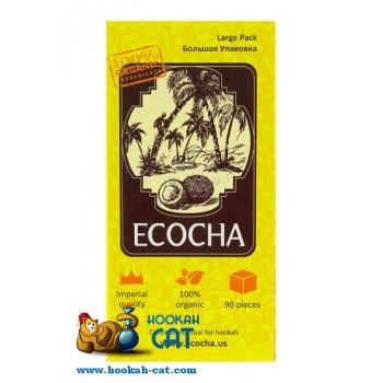 Уголь для кальяна Ecocha (Экоча) 96 шт. (1кг)