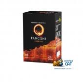 Уголь для кальяна Fanconi (Фанкони) 24 шт. (22мм, 250г)