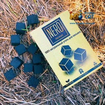 Уголь для кальяна Oasis Nero (Оазис Неро) 72 шт. (25мм, 1кг)