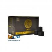 Уголь для кальяна Oasis большой 25мм - 72 шт. (1 КГ)
