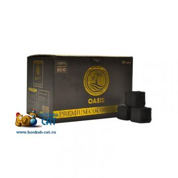 Уголь для кальяна Oasis Standart (Оазис Стандарт) 96 шт. (22мм, 1кг)