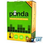 Уголь для кальяна Panda Flat (Панда Зеленый) 120 шт. (1кг)