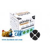 Уголь для кальяна Panda Segment Белый 64шт. (специально для калауда)