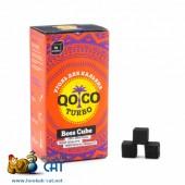 Уголь для кальяна Qoco Turbo (Коко Турбо) 96 шт. (22мм, 1кг)