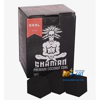 Уголь для кальяна Shaman (Шаман) 36 шт. (31мм, 1кг)