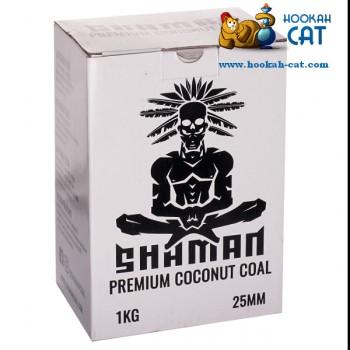 Уголь для кальяна Shaman (Шаман) 72 шт. (25мм, 1кг) - купить в Москве быстро и недорого