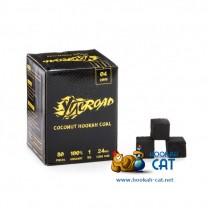 Уголь для кальяна Ugleroad (Углерод) 80 шт. (24мм, 1кг)