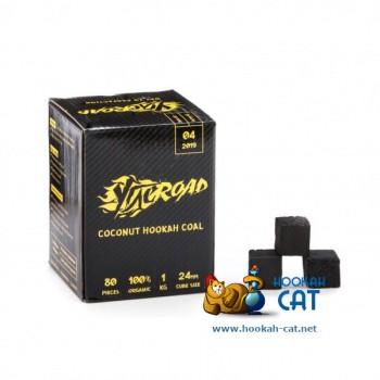 Кокосовый уголь для кальяна Ugleroad (Углерод) 80 шт. (24мм, 1кг)