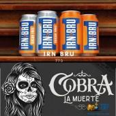 Табак Cobra La Muerte Irn Bru (Айрн Брю) 40г