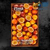 Табак Cobra La Muerte Passion Peach (Персик Маракуйя) 40г Акцизный