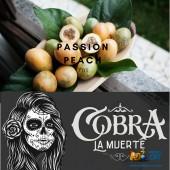 Табак Cobra La Muerte Passion Peach (Персик Маракуйя) 40г
