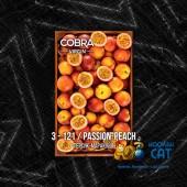 Смесь Cobra Virgin Passion Peach (Персик Маракуйя) 50г