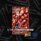 Смесь Cobra Virgin Strawberry Champagne (Клубничное Шампанское) 50г
