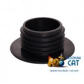 Уплотнитель для кальяна (Колба Шахта) черный тонкий