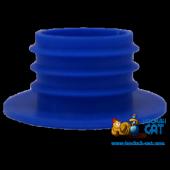 Уплотнитель для шахты кальяна синий силиконовый
