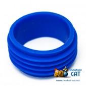 Уплотнитель для шахты кальяна мини синий силиконовый