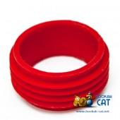 Уплотнитель для шахты кальяна мини красный силиконовый