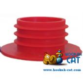 Уплотнитель для кальяна (Колба Шахта) красный силиконовый толстый