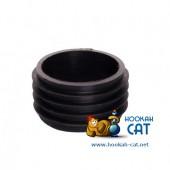 Уплотнитель для кальяна мини (Колба Шахта) черный