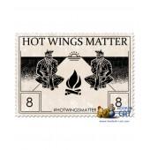 Табак Contrabanda Hot Wiings Matter (Острые Куриные Крылышки) 40г Акцизный