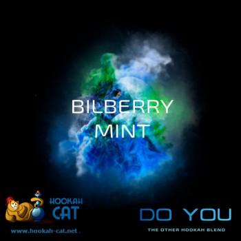 Бестабачная смесь для кальяна Do You Bilberry Mint (Чайная смесь Ду Ю Черника с Мятой) 50г